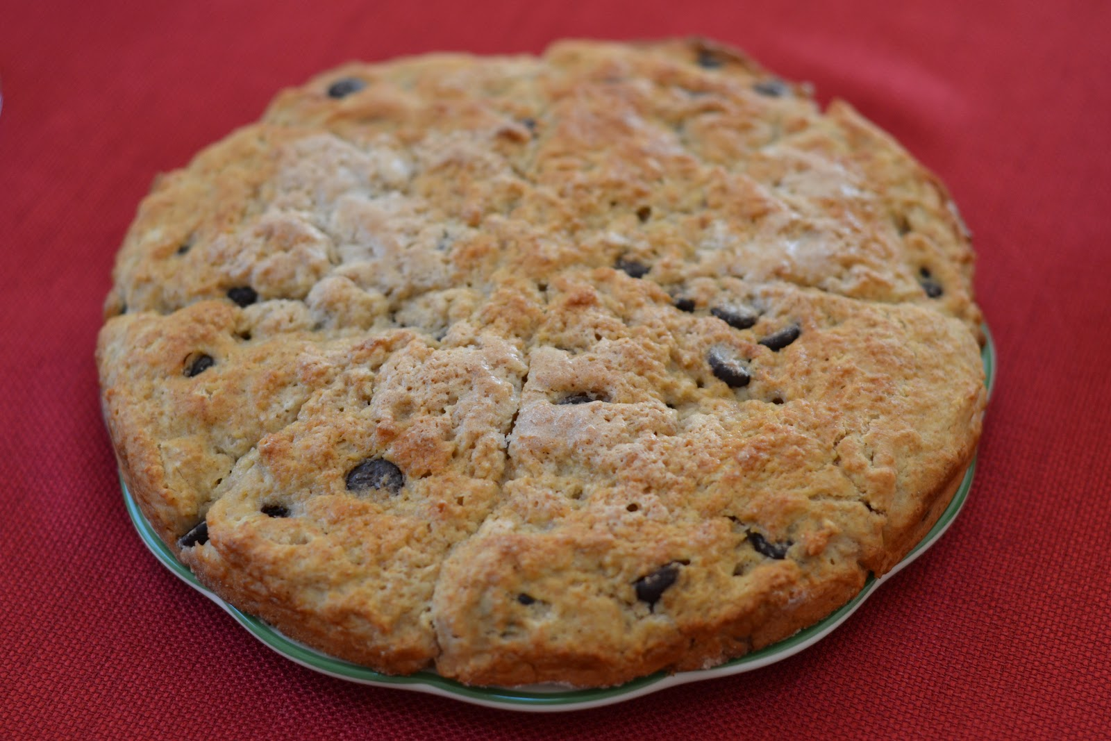 the eibls: Chocolate chip scone