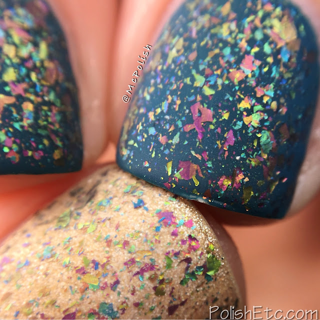 Glitter Daze - Flora Noxia Collection - McPolish - Fleur Fatale