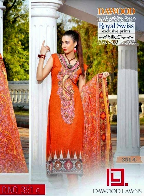 trend of Royal Swiss Lawn dresses