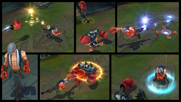 Skin Lee Sin Knock Out