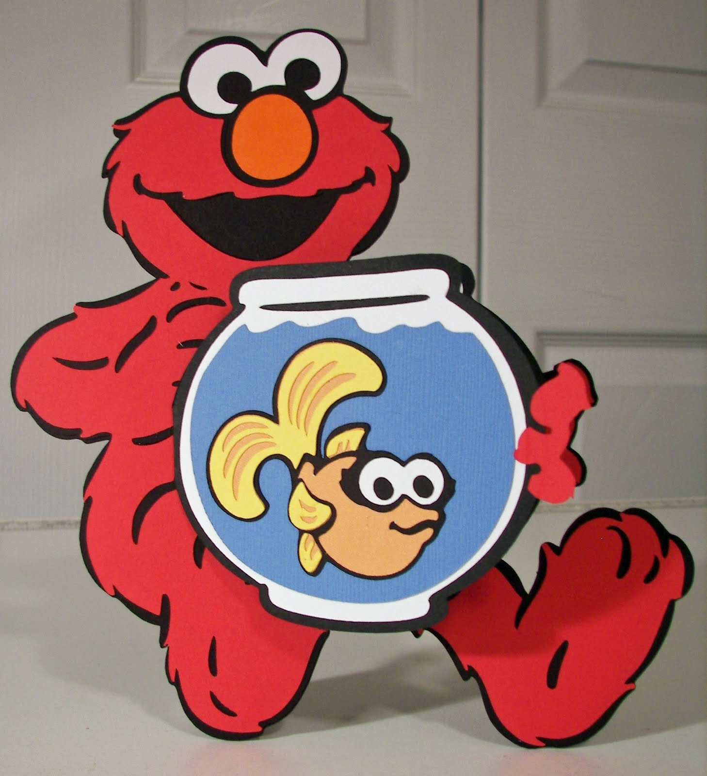 Elmo and Dorothy Clip Art http://gator-4-life.blogspot.com/2011/05/card-carnival-blog-hop.html