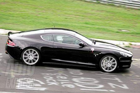 Aston Martin on Aston Martin V8