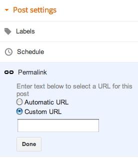 permalinks custom, seo onpage, seo blogspot, optimalisasi SEO