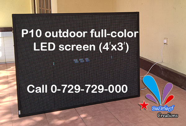 P10 LED VIDEO WALL available for Sale.