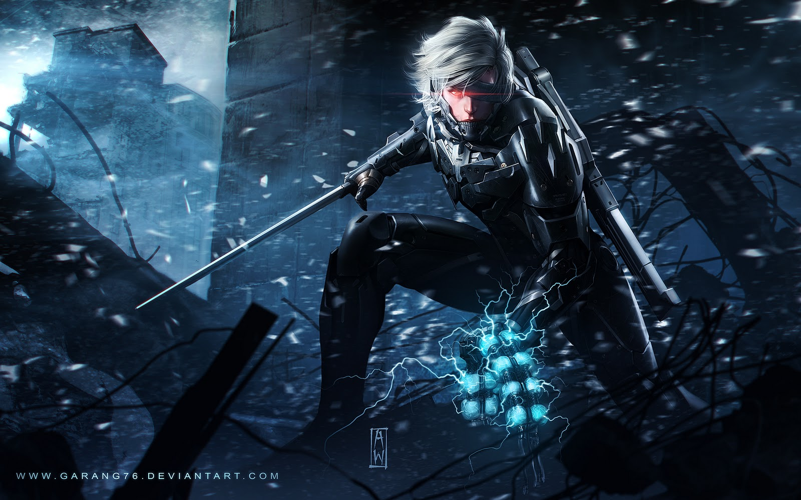 Chekydot Studio: Raiden Metal Gear Solid Revengeance Tribute