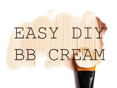 beauty, makeup, DIY, BB cream, homemade, cosmetics, easy, how to make, recipe, 2015, youwishyou, best BB cream