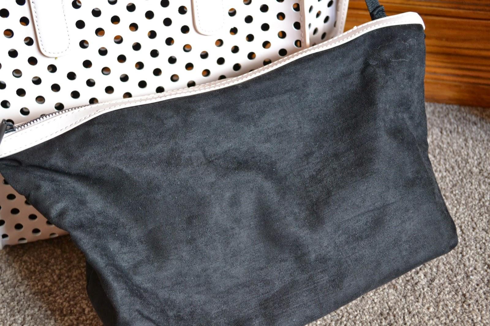 Zara Perforated Shopper Bag Zara Perforated Mini Shopper