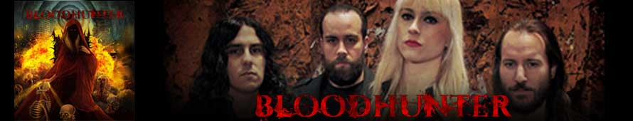 BLOODHUNTER lanza su primer disco