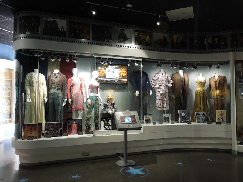 NBC Universal Experience costume exhibit