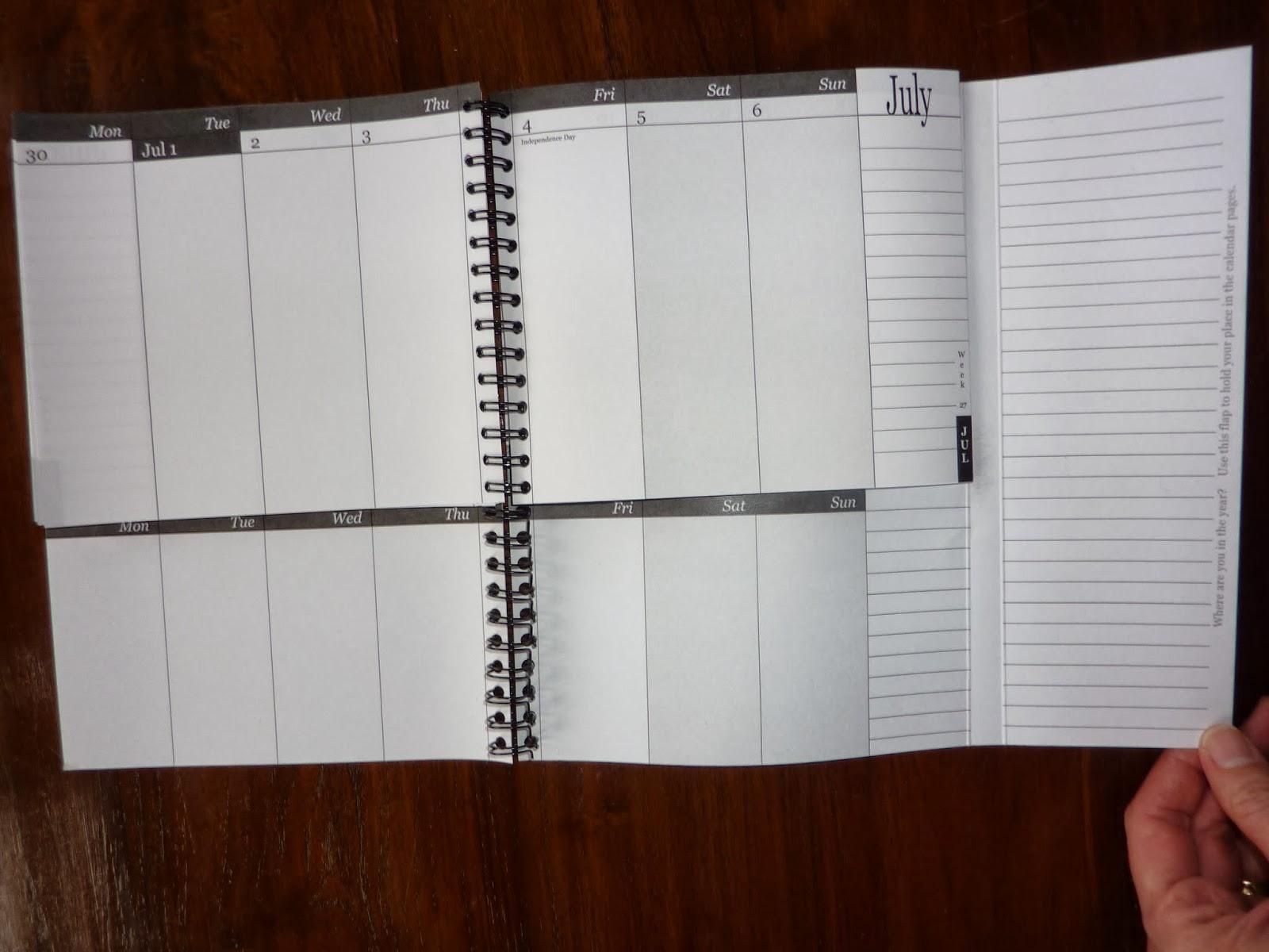Qt Weekly Calendar : Plannerisms weekdate  academic year planner