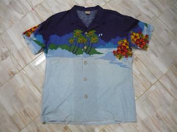 Kemeja design Hawai sz L