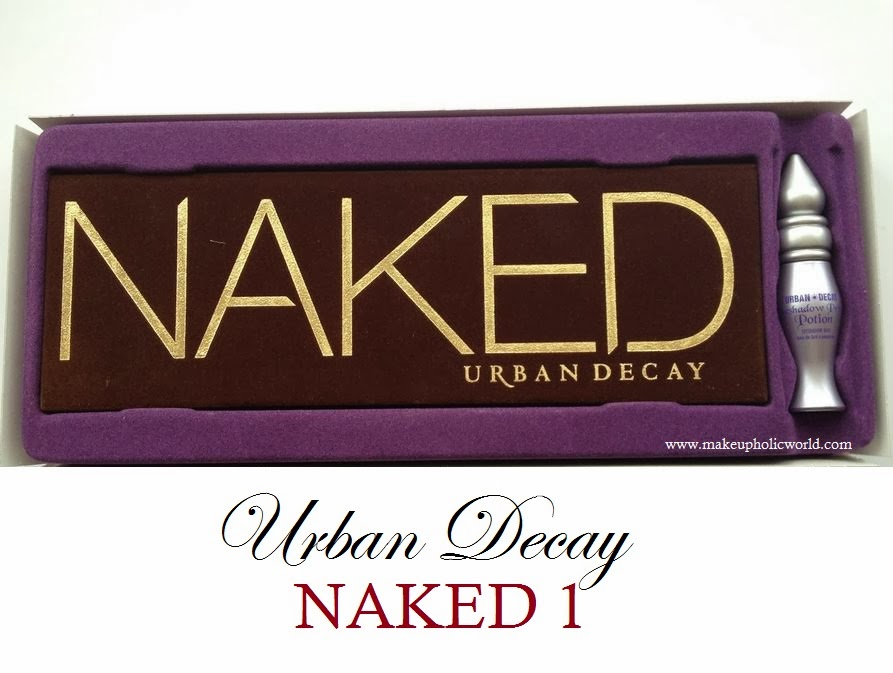 Urban Decay Naked Palette Review, Swatches