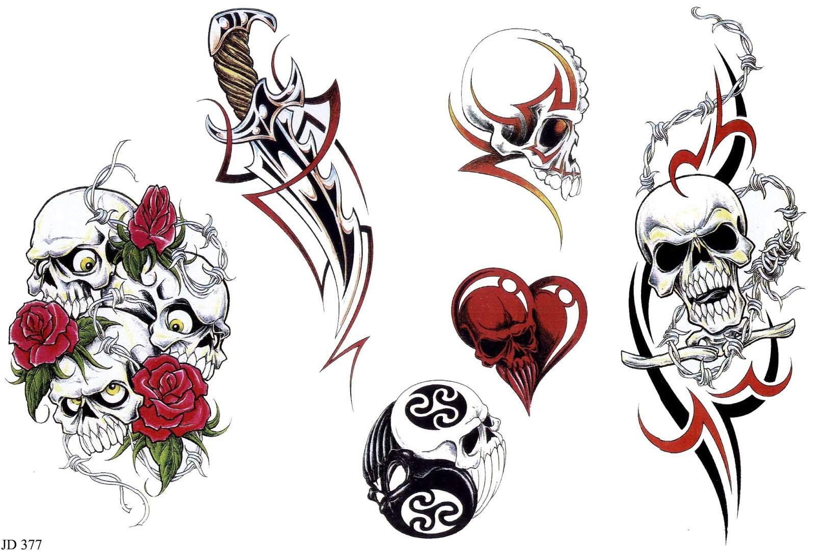Choosing a tattoo style that suits your body type four for Tattoo artist stencils