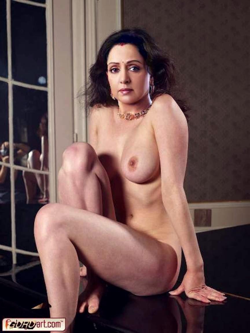 The Beautiful Hema Malini Hot Nude Pictures