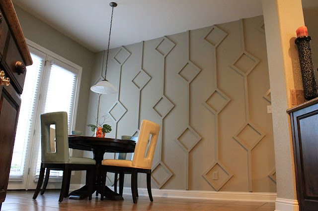 make them wonder diy diamond wall treatment how to guide