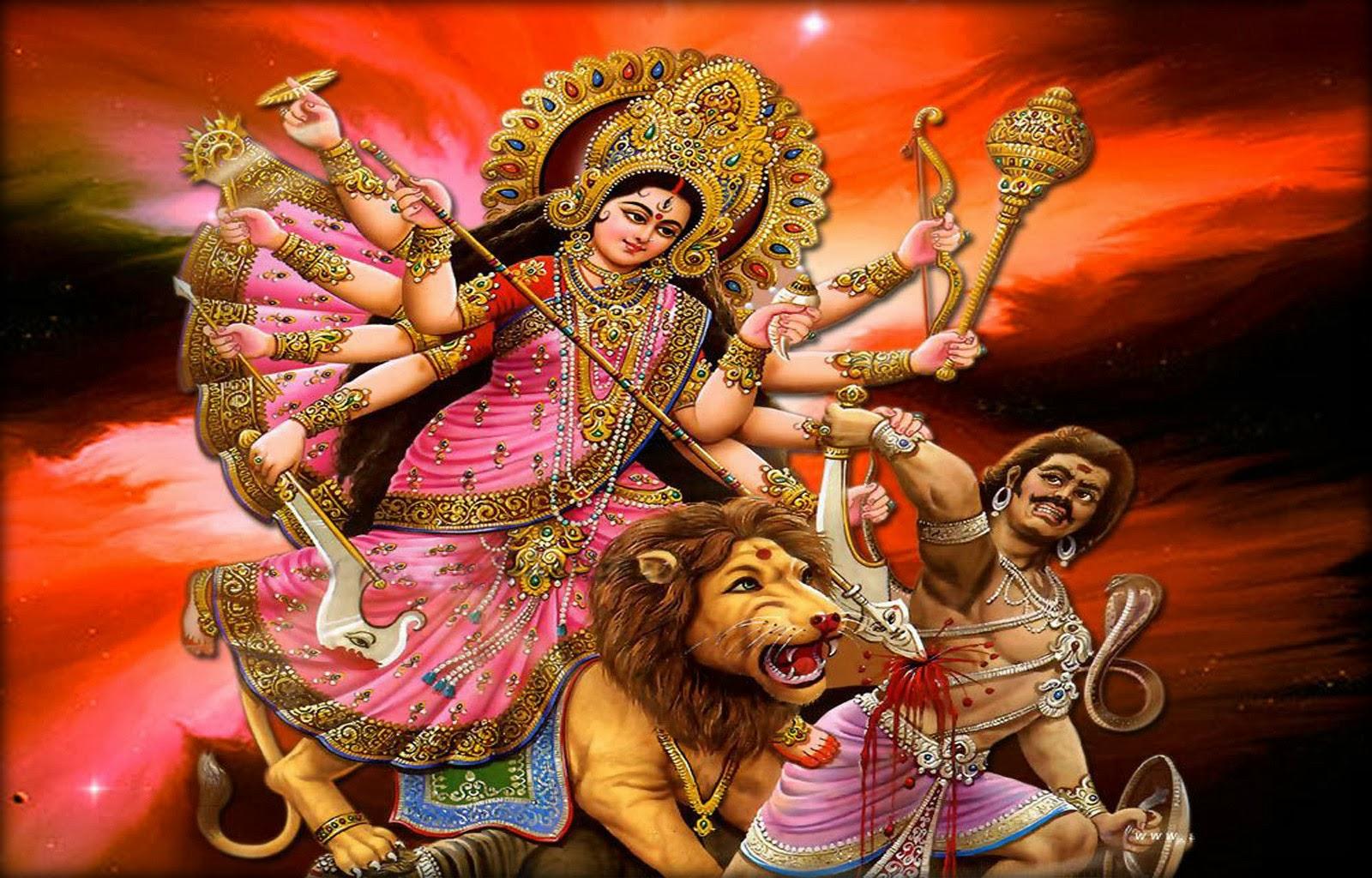 maa durga dazzling wallpapers images and pix god wallpaper