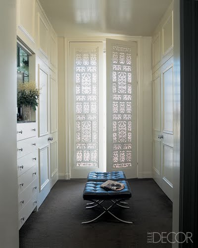 I am really digging doors with Moorish or Indian influences. These fabulous doors are actually the doors to closet designed by Jeffry Weisman and Andrew ... & Sybaritic Spaces: Create Fabulous Fretwork Doors