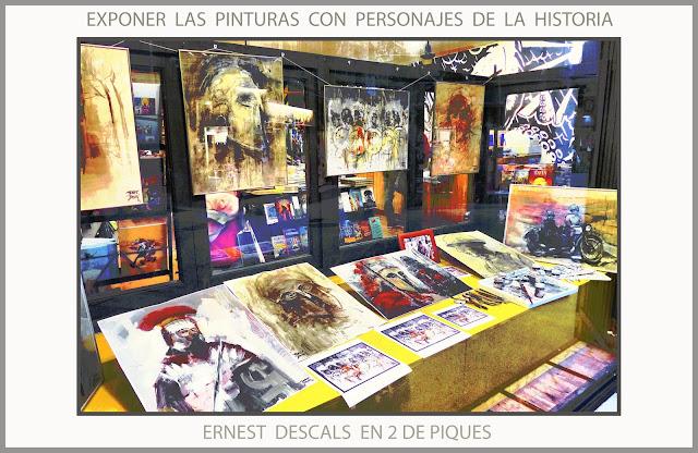 PERSONAJES-HISTORIA-PINTURA-ARTE-PINTURAS-HISTORICAS-EXPOSICION-2 DE PIQUES-MANRESA-CATALUNYA-FOTOS-ARTISTA-PINTOR-ERNEST DESCALS