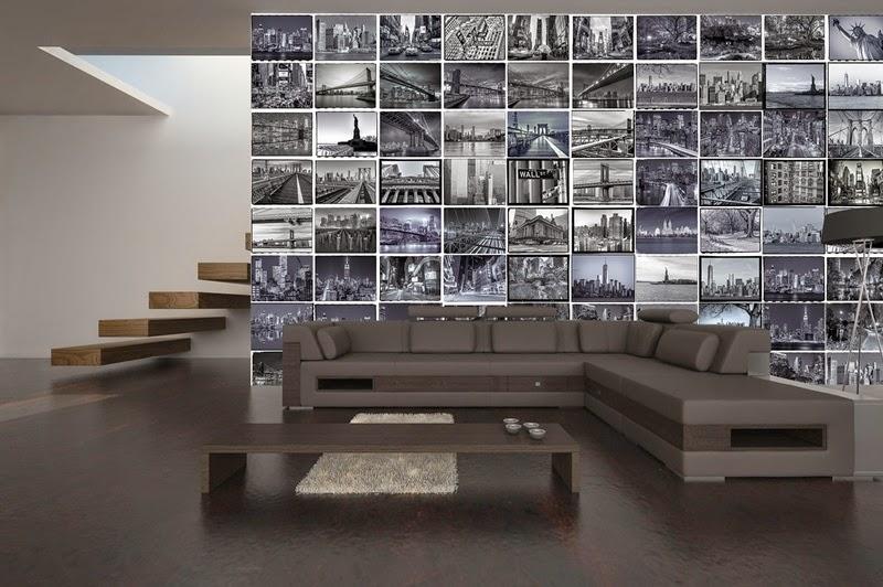 papel pintado: Fotomurales Collage - La revolución del Papel Pintado