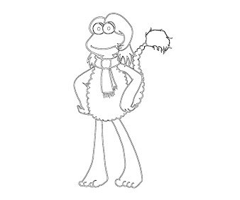 #12 The Muppets Coloring Page