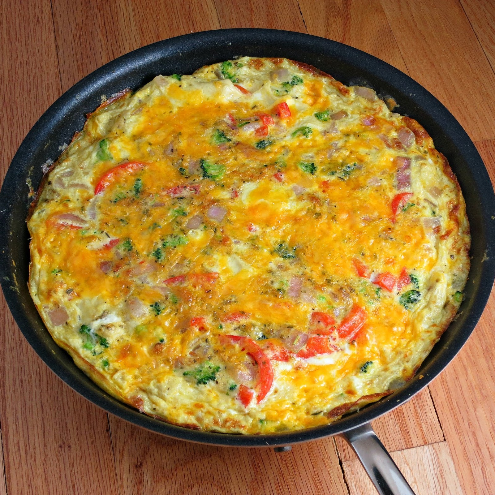 Easy Vegetable Frittata - Alida's Kitchen