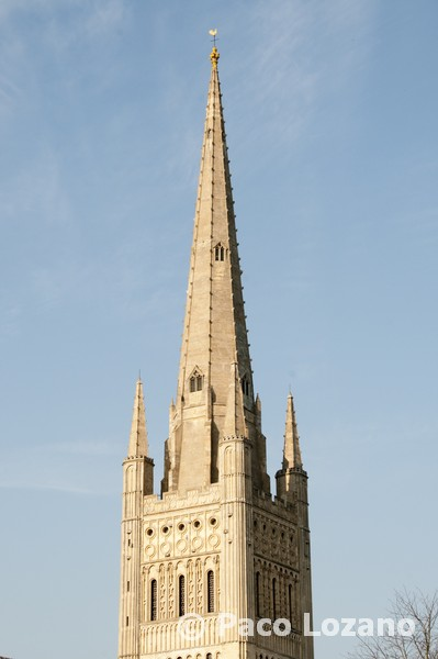 Norwich cathedral tower