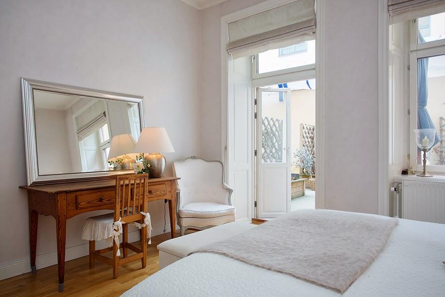 Shabby and Charme: Un raffinato appartamento a Stoccolma