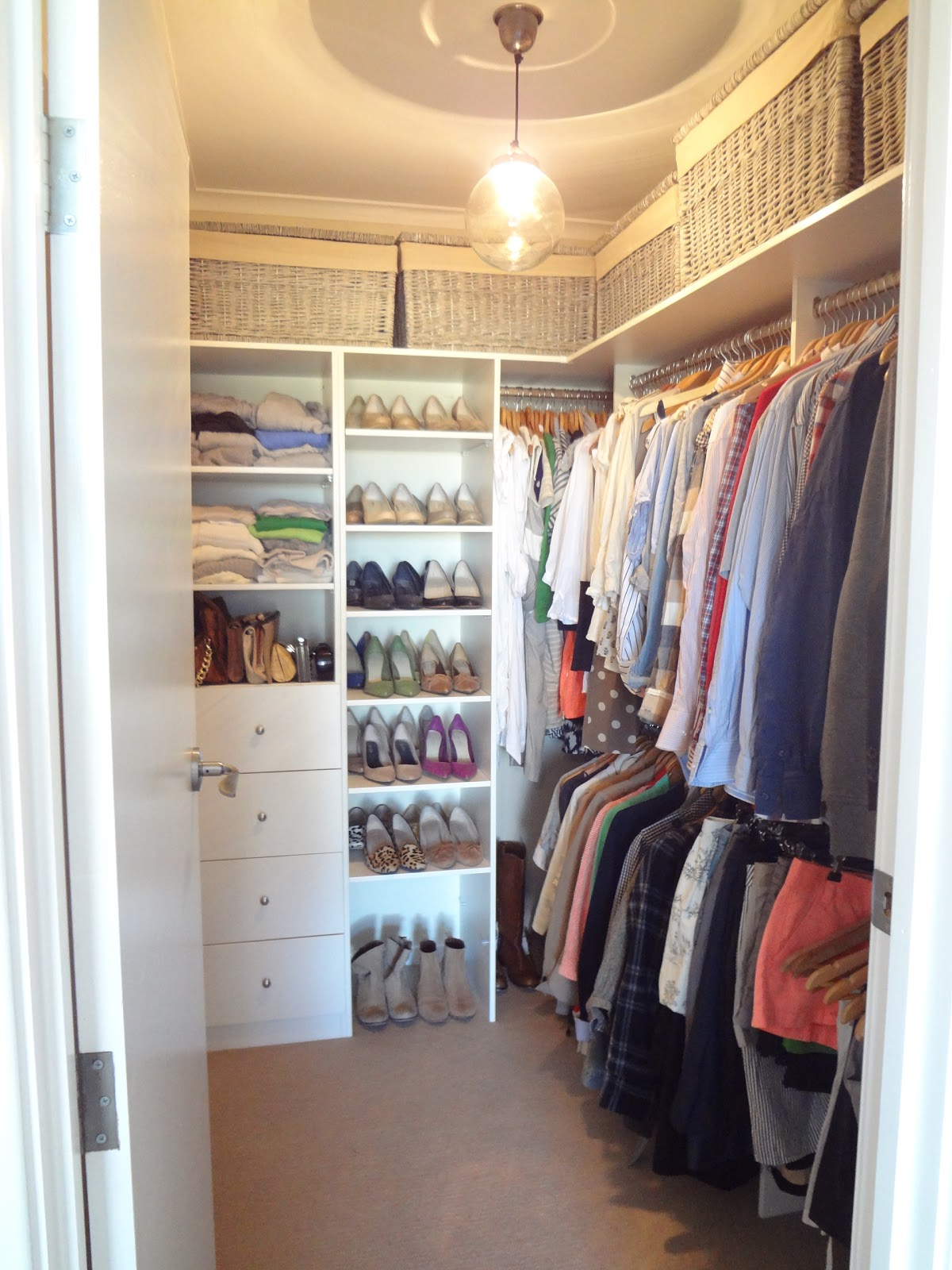 From larder to walk-in-robe title=