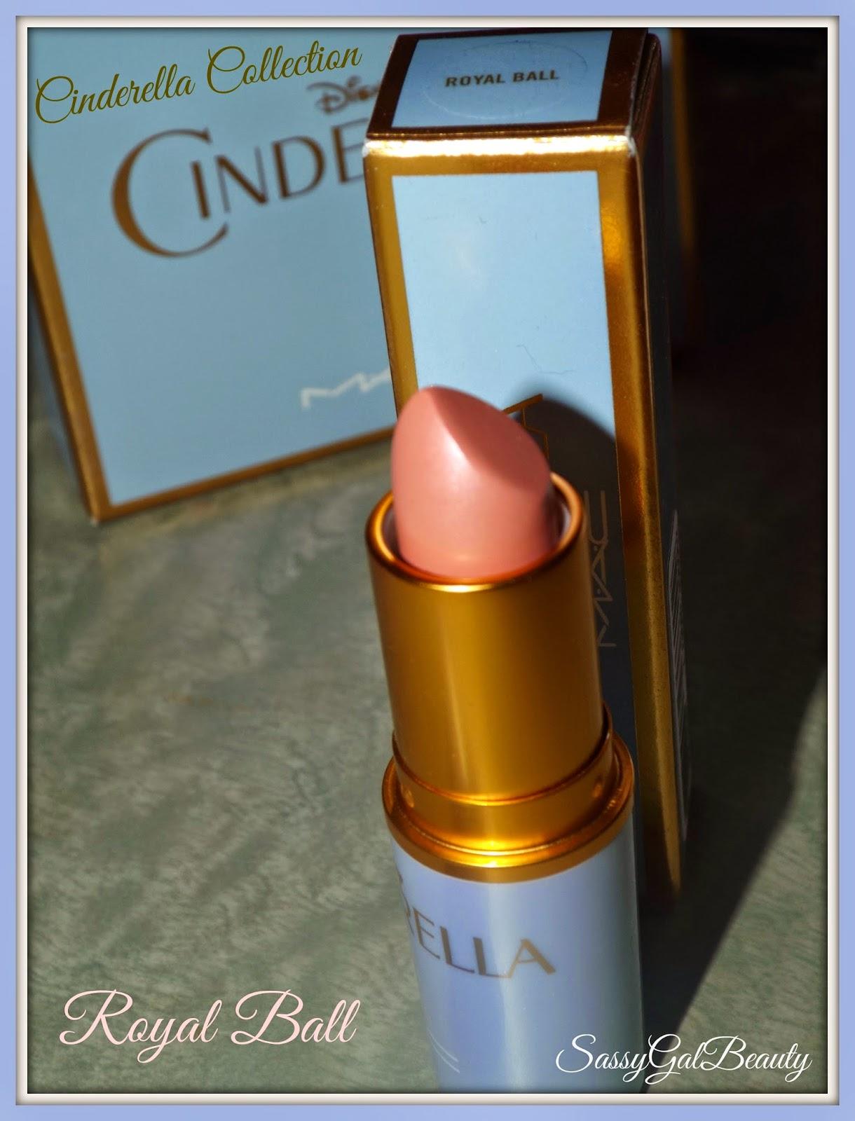 M.A.C. Cinderella Collection: Royal Ball Lipstick