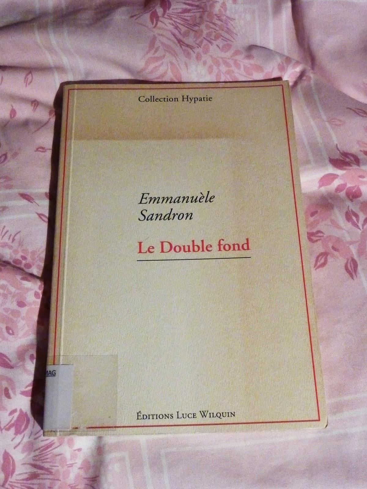 Le double fond - Emmanuèle Sandron