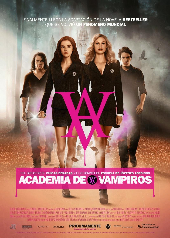 Academia De Vampiros 2014 [DvDRipAudioLatino][Accion]