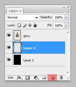 glow8 Penggunaan efek glow di Dance Ray dengan photoshop