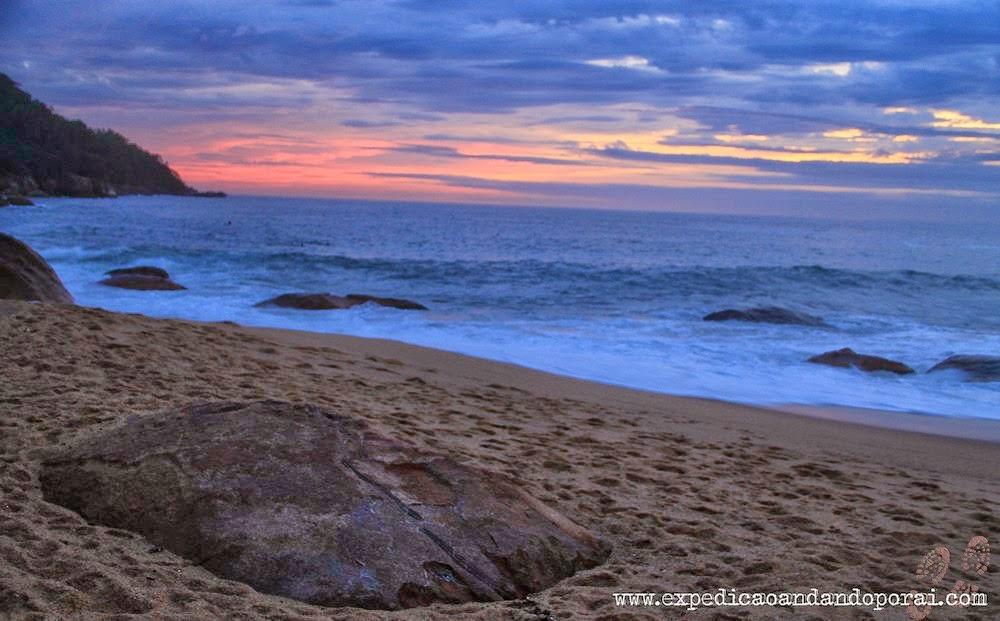 Pôr do sol em Ponta Negra