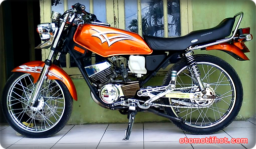 Top modifikasi motor rx king paling keren
