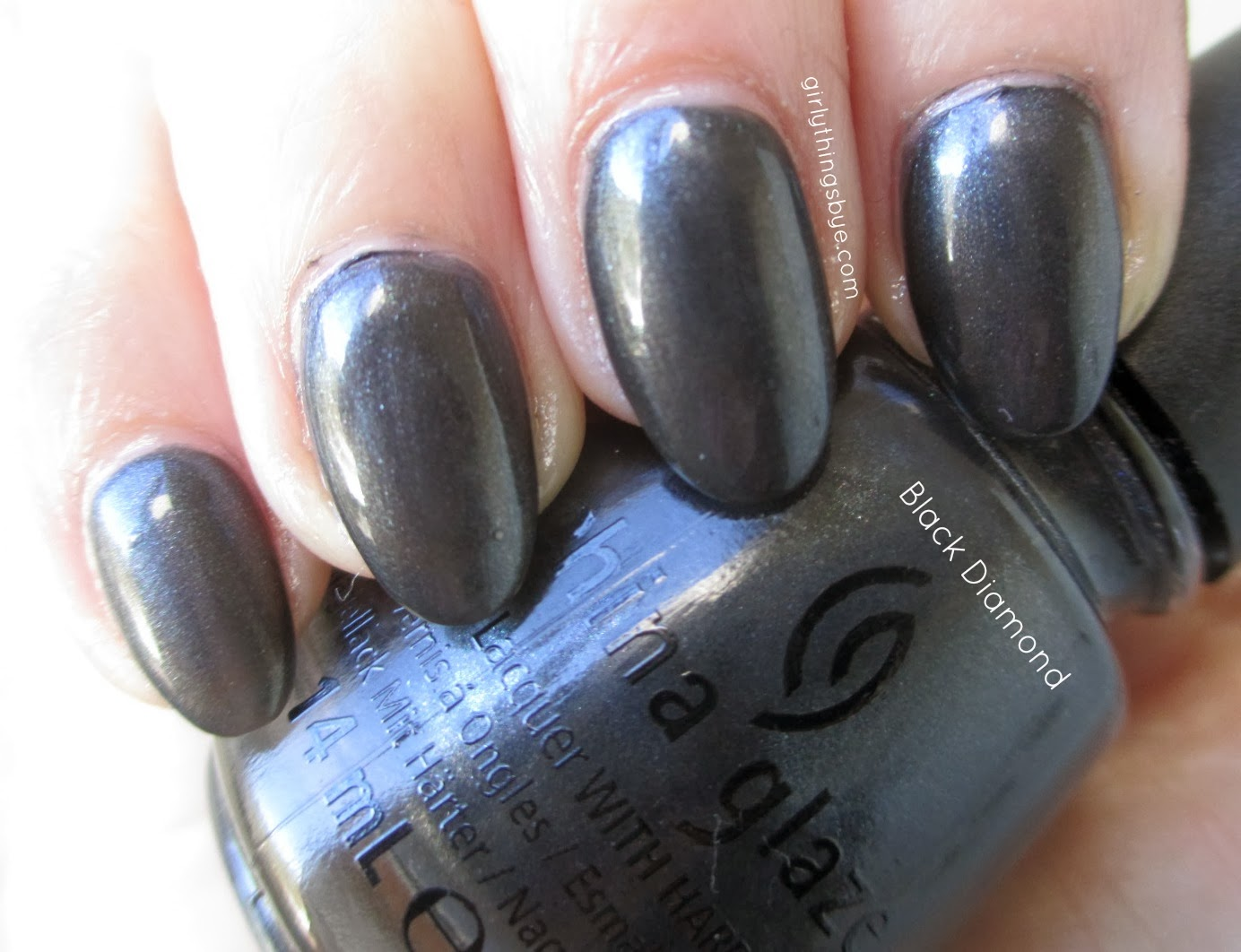 China Glaze Black Diamond, swatch