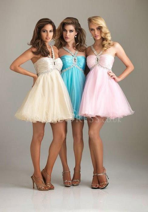 Princess Tulle Halter Natural Waist Short Length Sleeveless Prom Dress