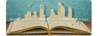transport gratuit, libris.ro