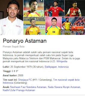 Ponaryo Astaman