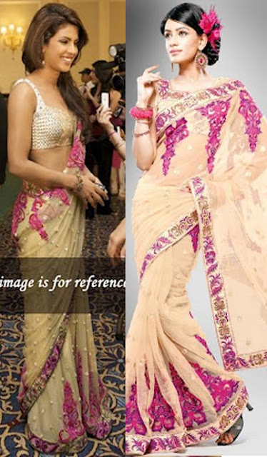Priyanka Chopra Sarees Wear in Award