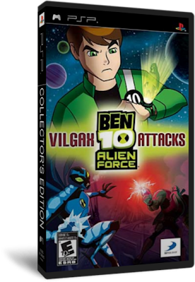 Ben 10 Alien Force: Vilgax Attacks [Español] [Full] [PSP] [PL-FS] [1