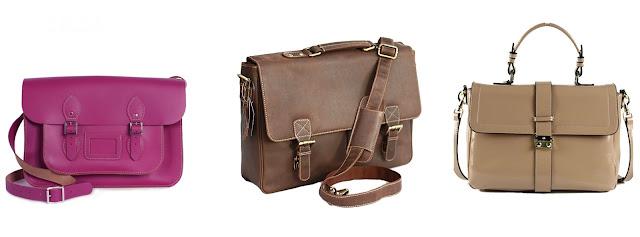 Satchel bag merupakan tas yang memiliki bentuk kotak