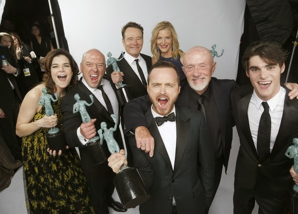 'Breaking Bad' y 'Modern Family', las triunfadoras en los SAG Awards