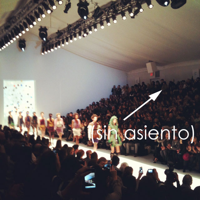 como colarse en la new york fashion week