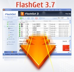 FlashGet 3.7 Aplikasi Download Manager