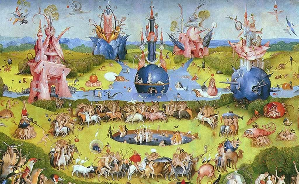 Matem ticas historia y arte de velazquez a kandinsky for El jardin de las delicias terrenales