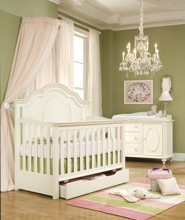 Dormitorios para beb s color verde dormitorios con estilo - Colores para habitaciones de bebe ...