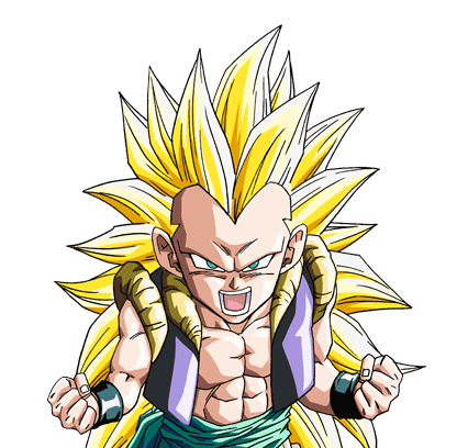 DRAGON BALL Z WALLPAPERS: Gotenks super saiyan 3