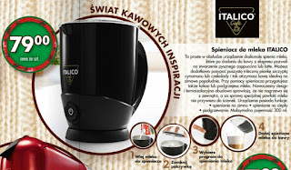 Spieniacz do mleka Italico Biedronka ulotka