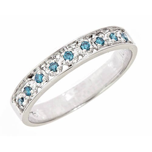 mixentry blue wedding rings design 2012