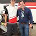 Luis Seguessa en la carrera de Fórmula E